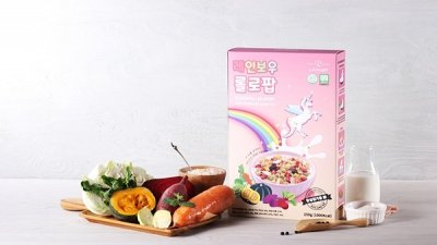 유기농 식품첨가물제로 만든 온가족 영양대용식 '롤로팝'