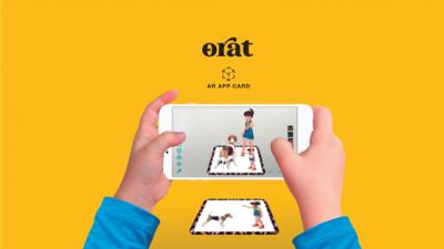 브이에이엠, '오라트 AR 앱 카드' 선보일 예정