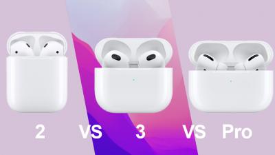 애플 '에어팟' 2세대·3세대·프로 비교해보니
