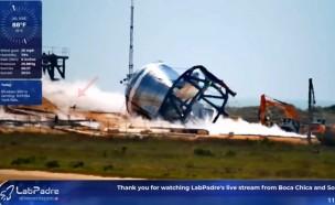 로봇개, 스페이스X 우주선 실험 사고 현장에 투입