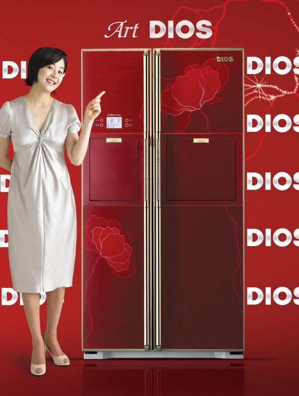 LG전자, 2007년형 아트디오스 냉장고 출시