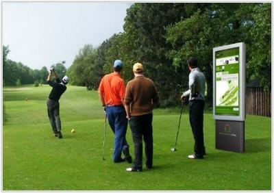 지난해 스페인 한 골프장에 설치된 버추얼 캐디 시스템