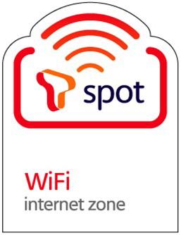 SK텔레콤 와이파이 인터넷존 'T스팟' 로고.