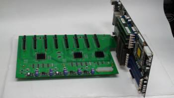코코링크가 국산화한 GPU 기반 슈퍼컴퓨터에 사용되는 보드. 이 보드에는 CPU보다 연산능력이 10배 빠른 GPU 8개가 동시에 탑재돼 기존 슈퍼컴보다 100배 빠른 연산이 가능하다.