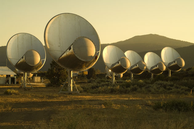 세티에서 운영 중인 Allen Telescope Array / 사진 = seti.org 제공