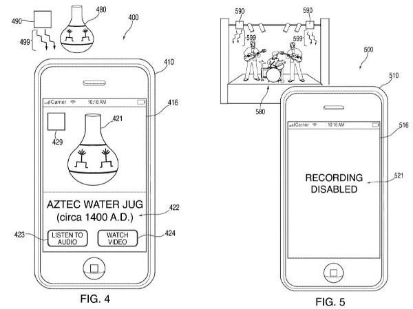 아이폰 카메라 원격 통제될수도? 애플, 불법영상 촬영막는 기술 특허출원 논란