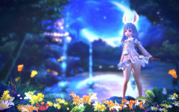 일본 이용자들이 가장 좋아하는 테라 캐릭터는 엘린으로 나타났다.