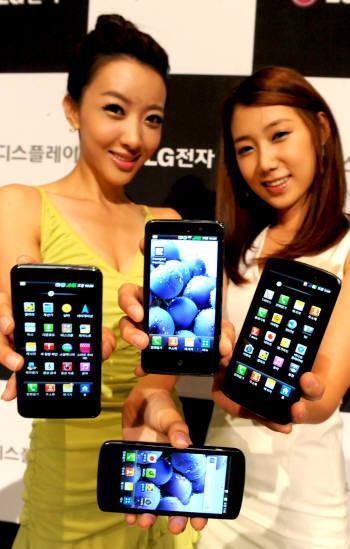 LG, LTE서 삼성 처음 제쳤다