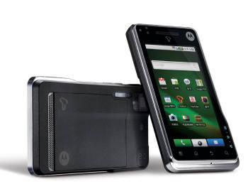 2010년 2월 한국에 처음 출시된 안드로이드 스마트폰 모토로라 `모토로이`