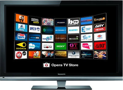 오페라 TV 소프트웨어를 장착한 스카이워스 TV