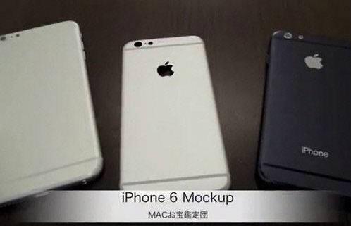 중국 부품 업체에서 유출된 아이폰6 목업