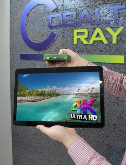 코발트레이, 4K UHD 해상도 지원 안드로이드 메인보드 개발