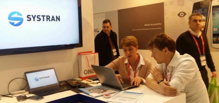 MWC2015에서는 세계 최고 수준의 번역기술을 갖춘 시스트란인터내셔널의 `시스트란 엔터프라이즈 서버8` 등에 대한 문의가 쇄도했다.