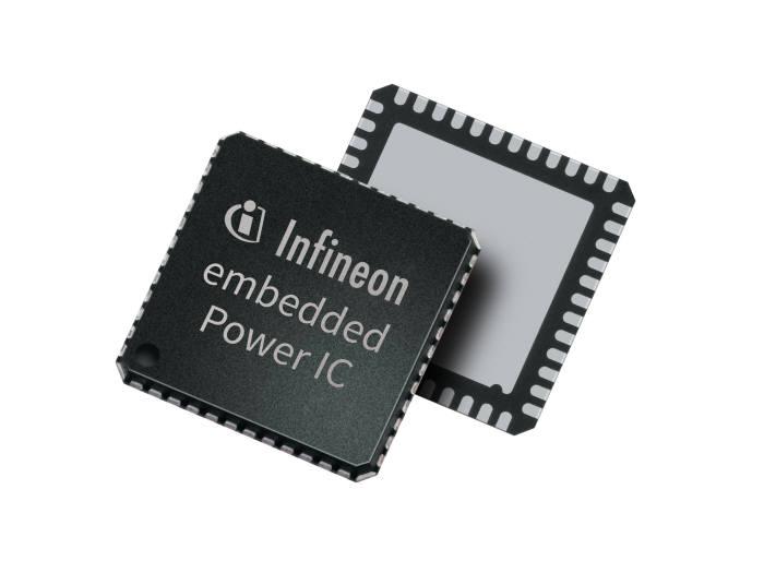 스마트 모터를 제어하는 인피니언의 ARM 기반 임베디드 파워 브리지 드라이버.