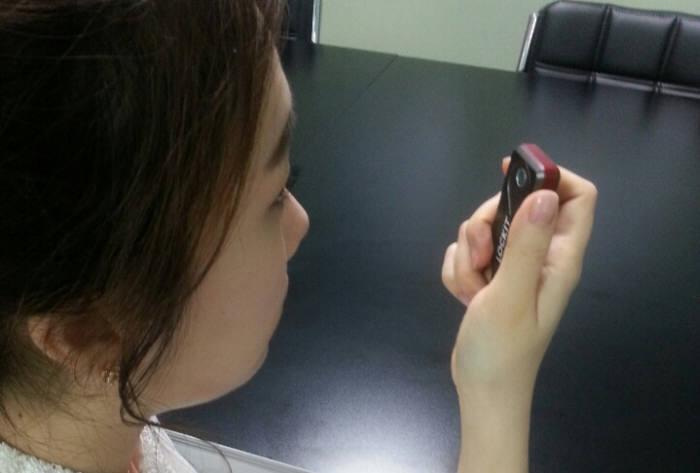 아이리시스 홍채인식 USB `락잇`