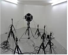 전품연 차세대음향산업지원센터 잔향실내 무지향성 스피커 모습