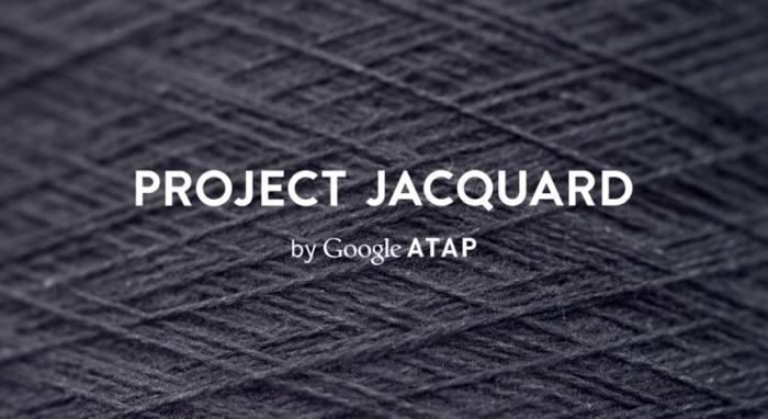 구글 전자직물 소재 `프로젝트 자카드`(사진:유튜브 소개영상 캡쳐)