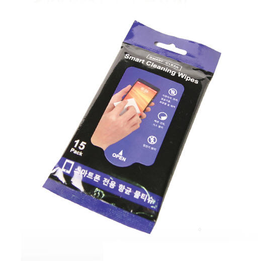 스마트폰 전용 항균 물티슈