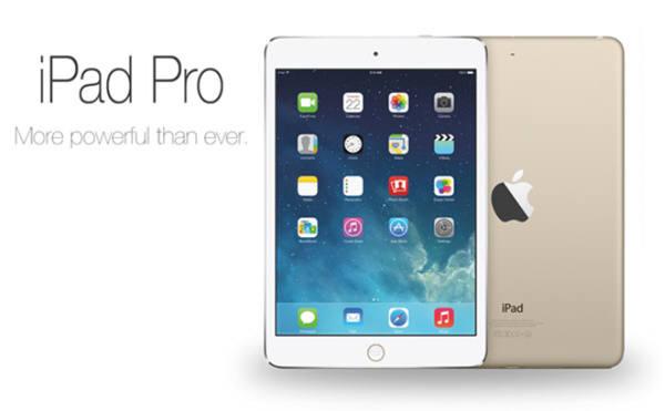 아이패드 매출이 지난 2분기 연속 하락한 상황에서 애플이 아이패드프로를 앞세워 기업용 고객에게 판매할 수 있다면 이는 대단히 매력적인 선택이다. 사진=애플