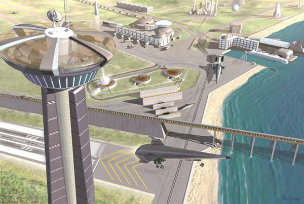 오는 2045년이 되면 10km이상의 높이에 우주공항이 지어질 것이다. 사진=위키피디아