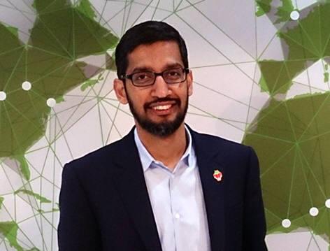 순다 피차이 구글 CEO가 이끄는 구글이 스마트폰 및 칩을 바탕으로 한 구글생태계를 더욱 공고히 할 움직임을 보이고 있다. 사진=위키피디아