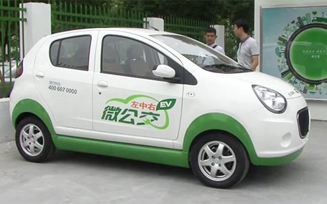 중국 전기차 업체 칸디(Kandi)가 개발한 전기차<출처: Kandi>