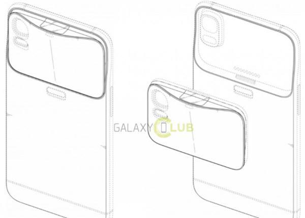 삼성이 특허받은 렌즈모듈 교환식 스마트폰. 사진=KIPRIS/갤럭시클럽