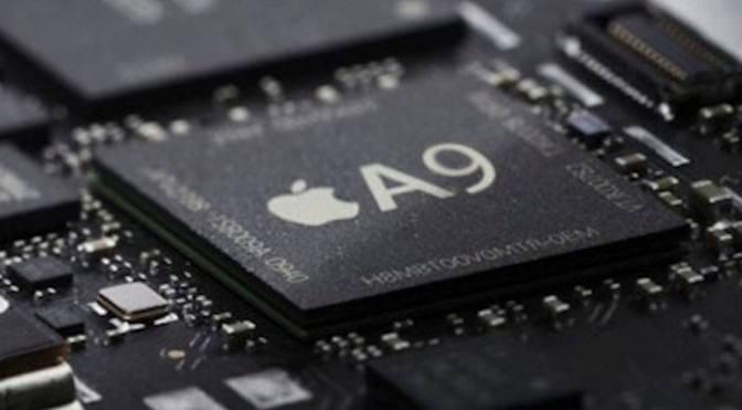 14/16나노 공정으로 생산된 애플 A9칩. A10칩은 10나노 공정이 적용될 것이란 예상이다.