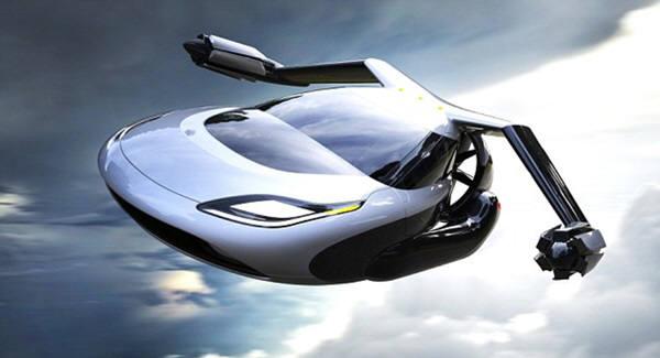 테라푸가의 TF-X는 2개의 접는 날개 끝에 2개의 엔진을 가지고 있다. 이는 수직으로 이륙해 수평으로 비행할 수 있게 해준다.각 엔진은 300마력의 출력을 가지고 있다. 일러스트=테라푸가