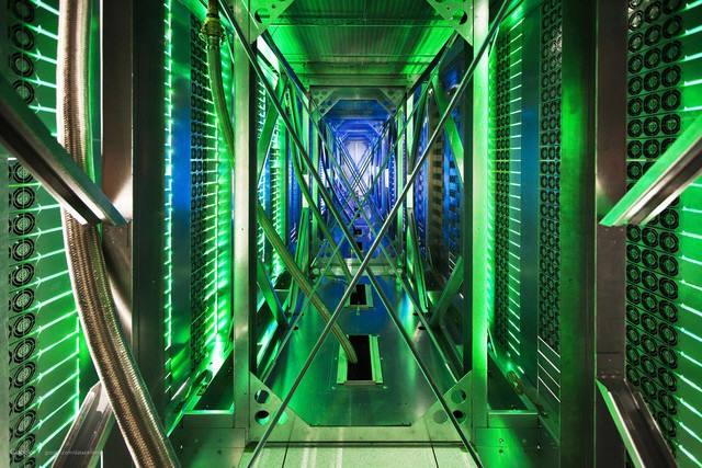 구글 데이터센터 전경 <자료:AP>