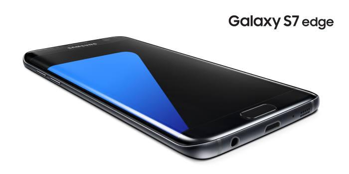 갤럭시S7 엣지 블랙 오닉스 <삼성전자 제공>