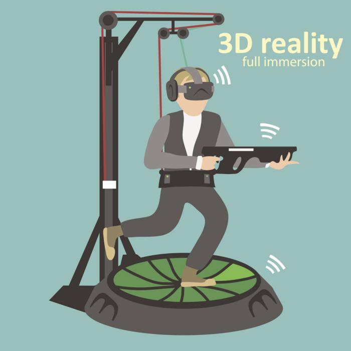 """VR방에서 게임 한판?""...중, VR체험매장 뜬다"