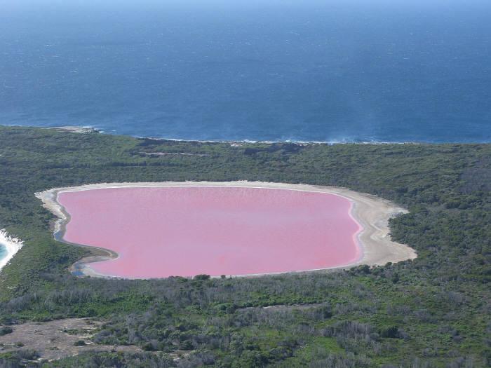 호주 힐리어 호수(출처: wikipedia/Aussie Oc)