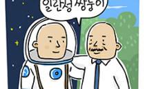 쌍둥이, 우주와 지구에서 각각 1년 후 보면?