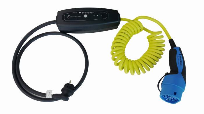 LS산전 전기차 휴대용 충전기