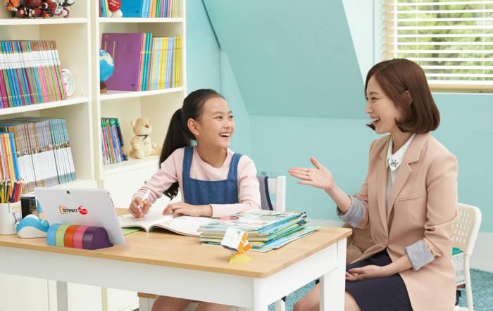 교원같은 기존 방문 교사 중심의 학습지 기업도 스마트교육 상품을 새롭게 출시하며 에듀테크 시장에 뛰어들고 있다.
