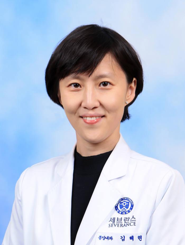 김혜련 연세암병원 종양내과 교수