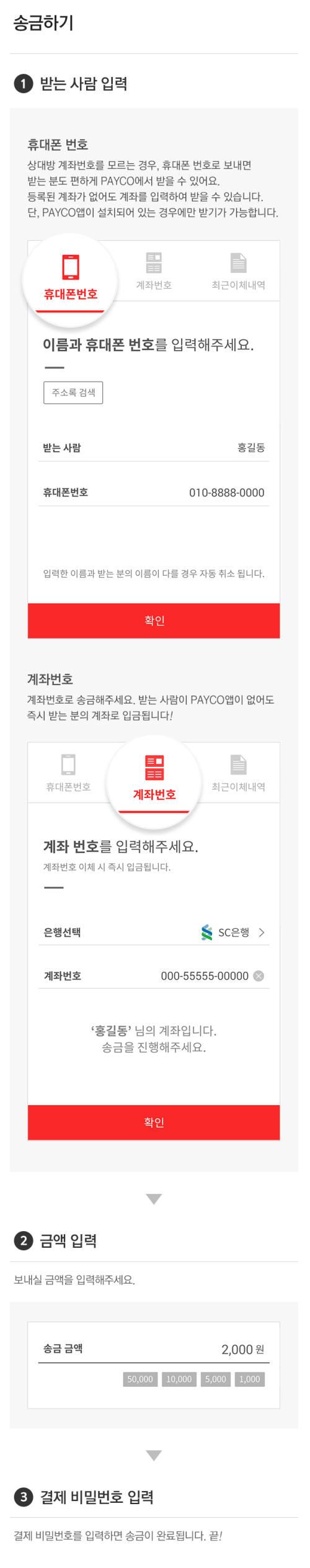 NHN엔터, 간편결제 페이코 `간편송금` 서비스 출시