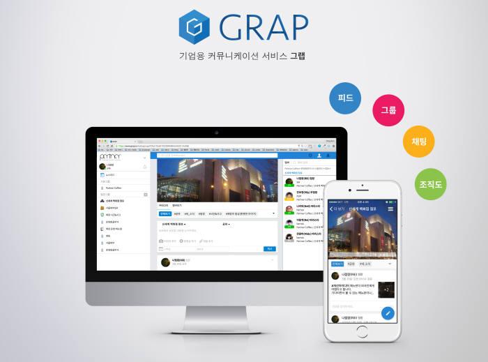 신세계아이앤씨, 기업용 협업서비스 그랩 출시
