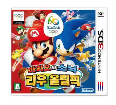 닌텐도 3DS 마리오와 소닉 리우올림픽