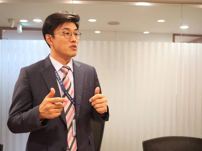 이문형 한국보메트릭 지사장(사진:박정은 기자)
