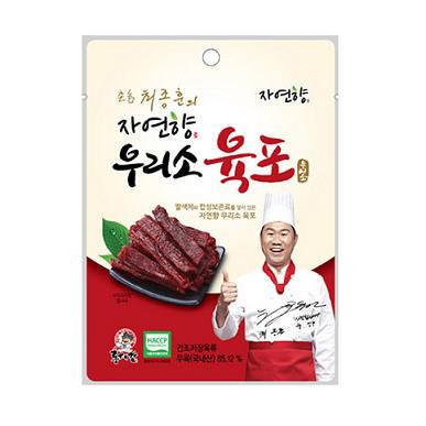 자연향 촌놈 최종훈 국내산 육포 20g 1봉