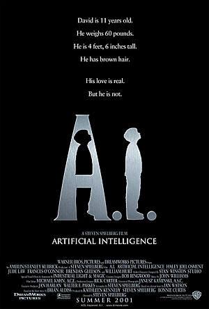 영화 A.I 포스터