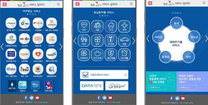 행자부, 아이폰용 `정부3.0` 앱 출시