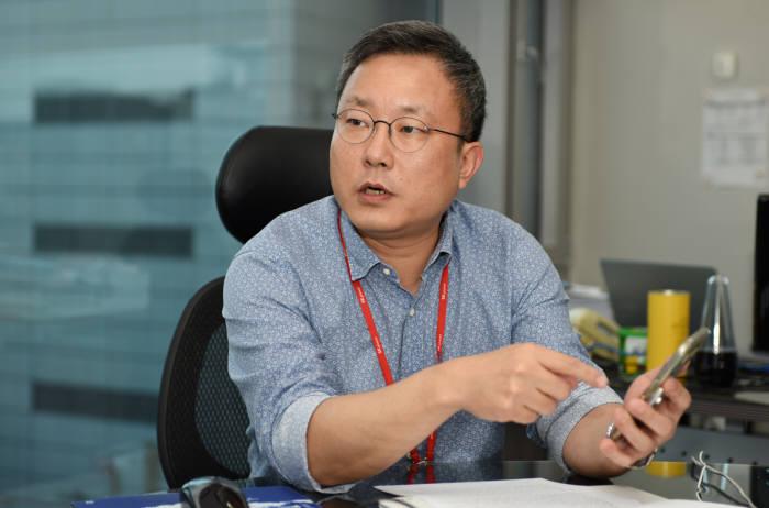 박준영 SK플래닛 11번가 MD본부장이 11번가 모바일 애플리케이션 서비스를 설명했다.