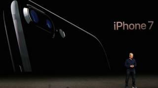 듀얼 카메라를 장착한 아이폰7플러스. LG이노텍이 듀얼 카메라 모듈을 공급했다.