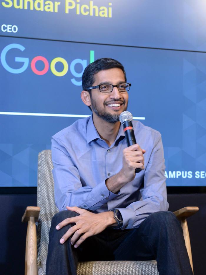 순다 피차이 구글 CEO