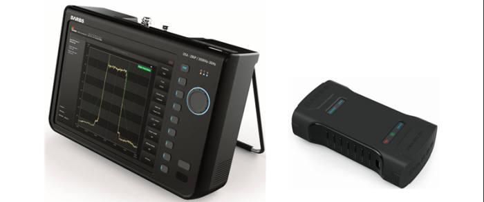 답스가 개발한 휴대용 FM 신호분석기