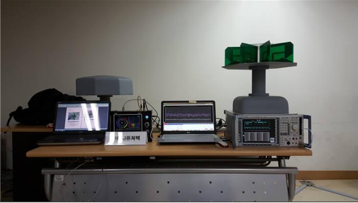 애니퓨처텍 수상작인 고속 이동 다채널 전계강도 분포 측정 및 분석 솔루션