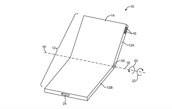 애플, 폴더블 스마트폰 특허 획득